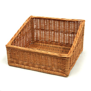 Wicker Display Tray Basket - bedroom