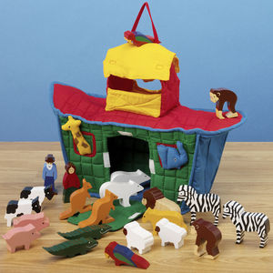 Noah's Ark Soft Play Set - religious christening gifts