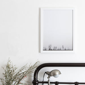 Photographic Forest Print - keeping cosy