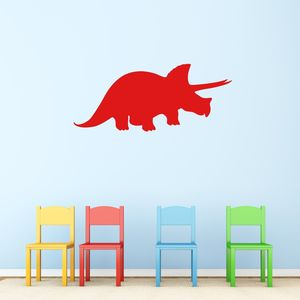 Triceratops Dinosaur Vinyl Wall Sticker - summer sale