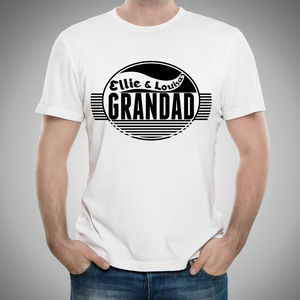 Grandad Personalised T Shirt - gifts for grandfathers