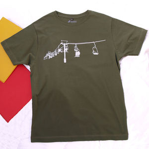 Ski Lift T Shirt - gifts for him