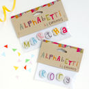 Alphabet Initial And Name Magnets