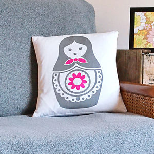 Babushka Cushion - cushions