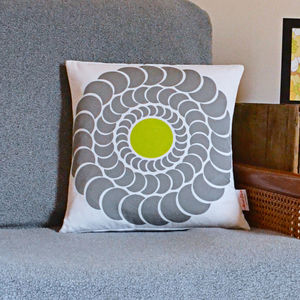 Dahlia Cushion - patterned cushions