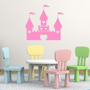 Princess Castle Vinyl Wall Sticker