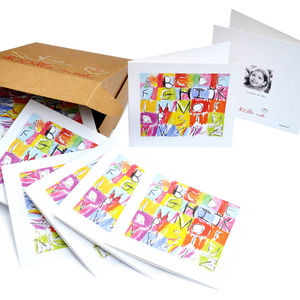 Bespoke Children's Artwork Cards