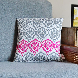 Primrosie Cushion - patterned cushions