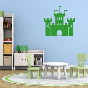 Castle Vinyl Wall Sticker - baby's room
