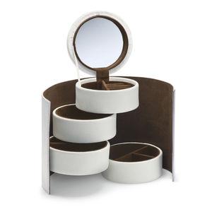 Donatella Leather Jewellery Box - jewellery storage & trinket boxes