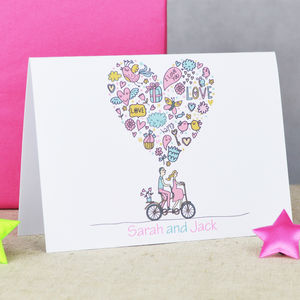 Personalised 'Wedding' Day Card