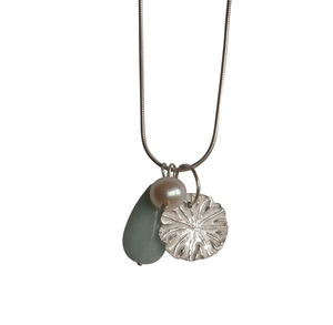 Silver Poppy Necklace - necklaces & pendants