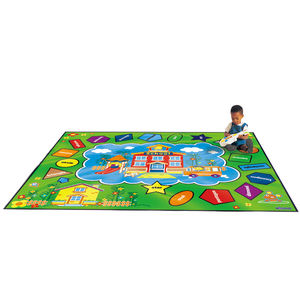 Child's Alphabet Or Number Floor Rug