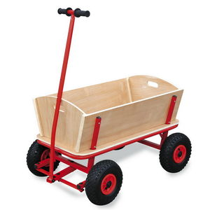 Wooden Hand Cart - traditional toys & games