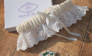 New 2105 Vintage Inspired Bridal Garter - lingerie & nightwear