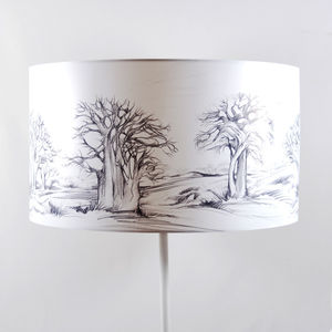Baobab Lampshade - lighting