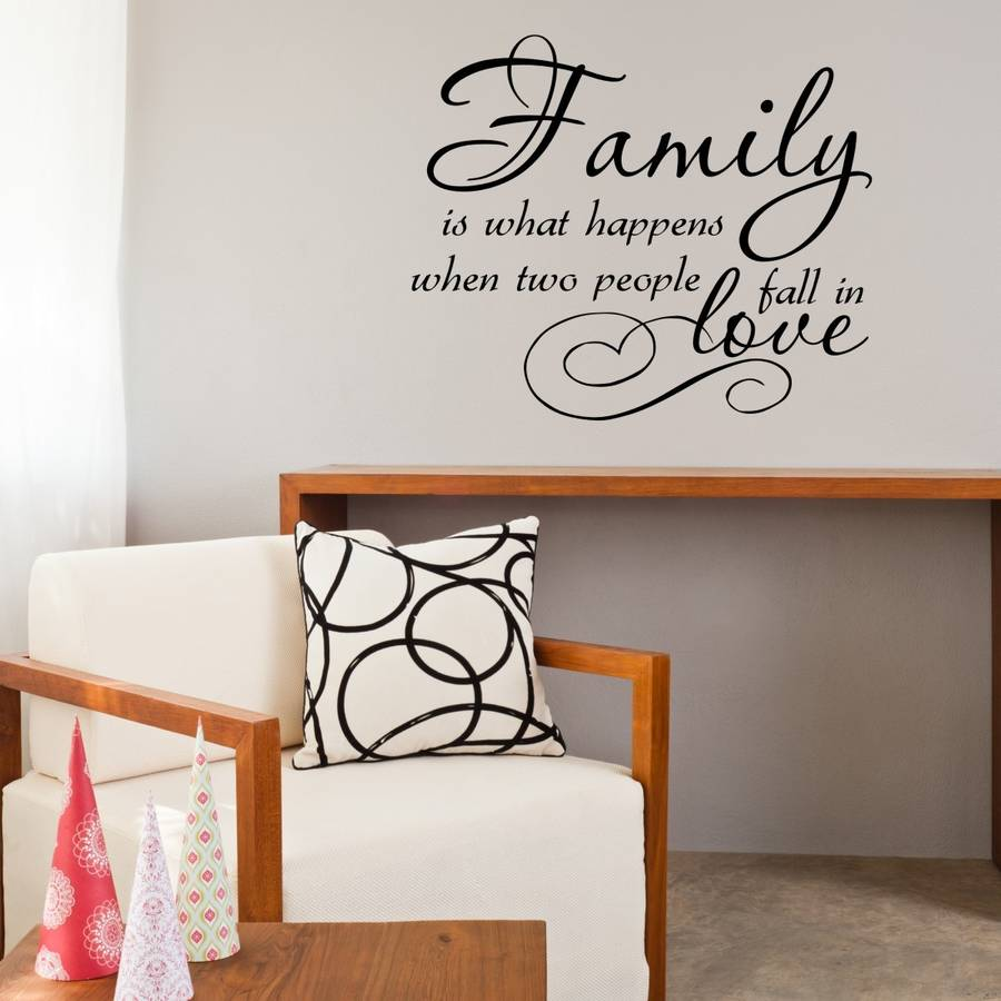 28 family quote wall stickers love heart family wall family quote wall stickers family love quote vinyl wall sticker by mirrorin