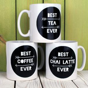 Personalised Best Ever Drink Mug