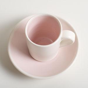 Handmade Espresso Cup / Saucer