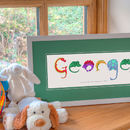 Personalised Dinosaur Name Print Featured Image