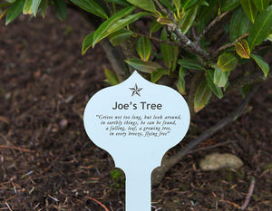 Personalised Engraved Memorial Plaque - art & decorations