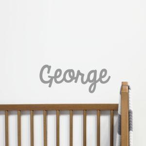 Personalised Name Sticker - children's room accessories