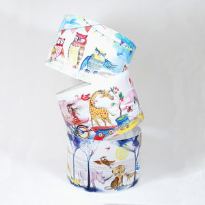 Childrens Hand Illustrated Lampshades