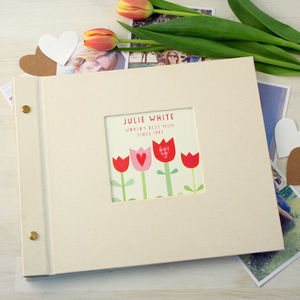 Personalised Mother's Day Photo Album - mum loves
