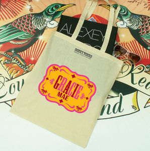 Tween Tote Country Design - shopper bags