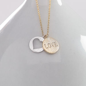 My Love Necklace - gifts under £25 for her
