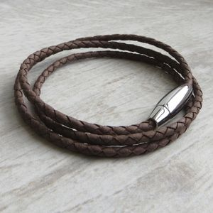 Leather Stanley Rope Bracelet - jewellery sale