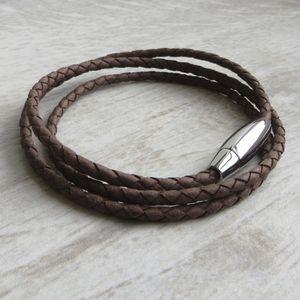 Leather Stanley Rope Bracelet