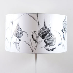 Weaver Lampshade - lamp bases & shades