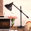 Industrial Steel Desk Table Lamp