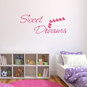 Sweet Dreams Bedroom Wall Sticker
