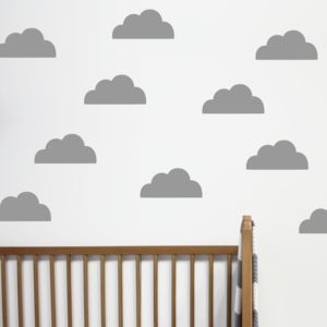 Children's Cloud Wall Stickers