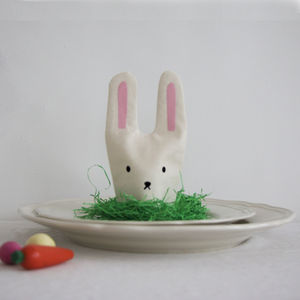 Six Easterbunny Egg Cosies - view all easter