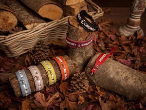 Doggy Things Italian Bling Collars - dogs