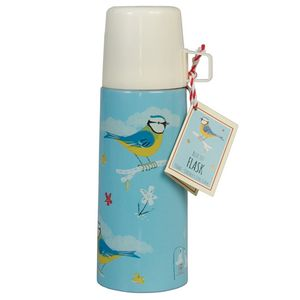 Blue Bird Flask And Cup - home sale