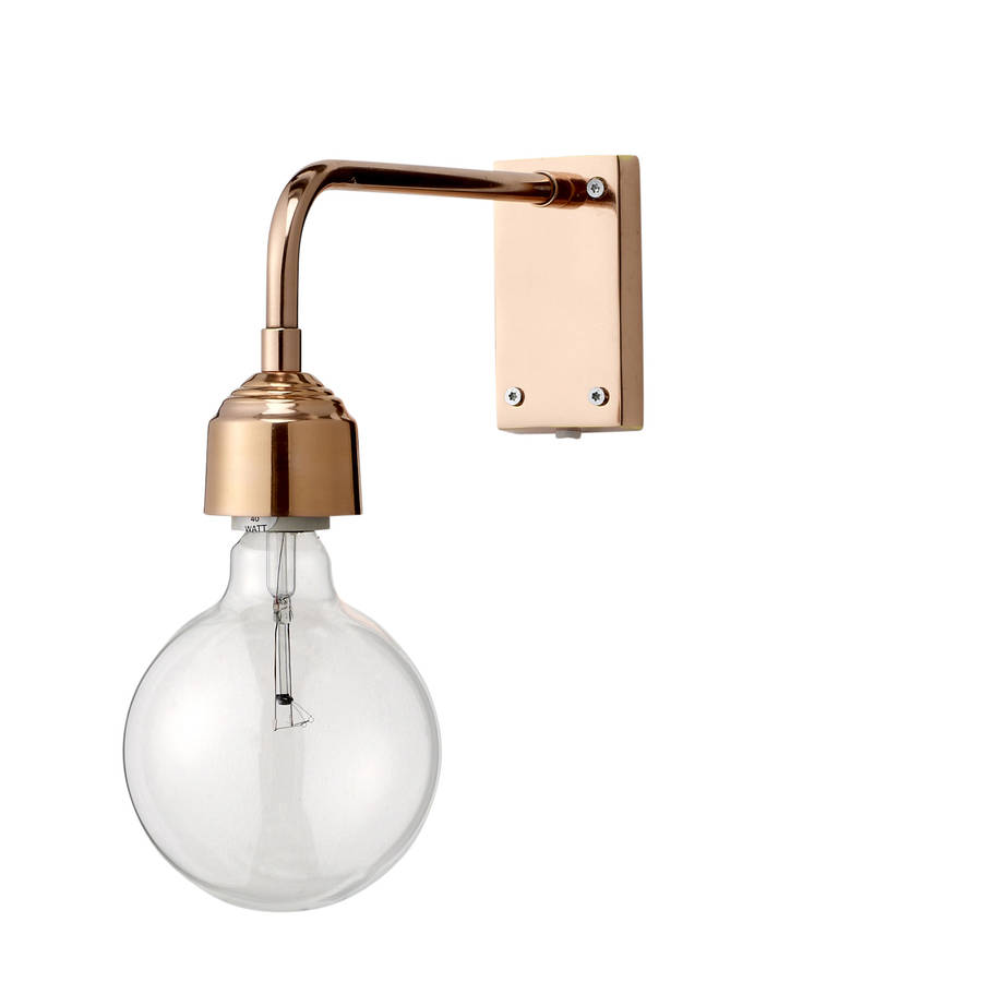 Copper Wall Light By The Forest & Co