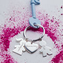 Personalised Person Keyring