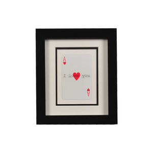 Ace Of Hearts Frame