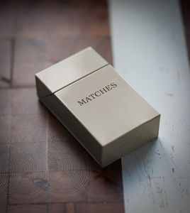 Matchbox Holder - fireplace accessories