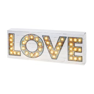 LED Love Light - gifts under £25 for her