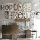 Typography Collage Wallpaper Mural