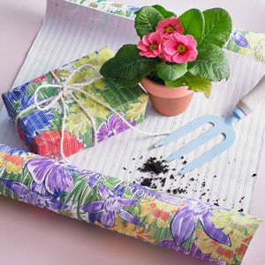 Wildflower Plantable Wrapping Paper - fresh & alternative flowers