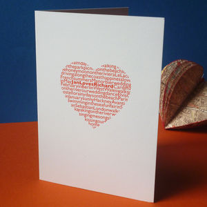 'Our Story' Valentine's Card - shop by category