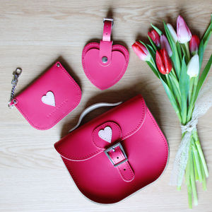 With Love From… Leather Accessories Set