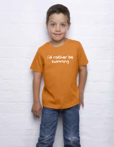 I'd Rather Be … Kids T Shirt