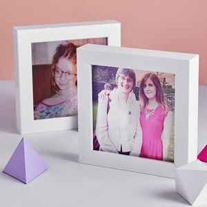 Personalised Transparent Photo Frame - prints for families